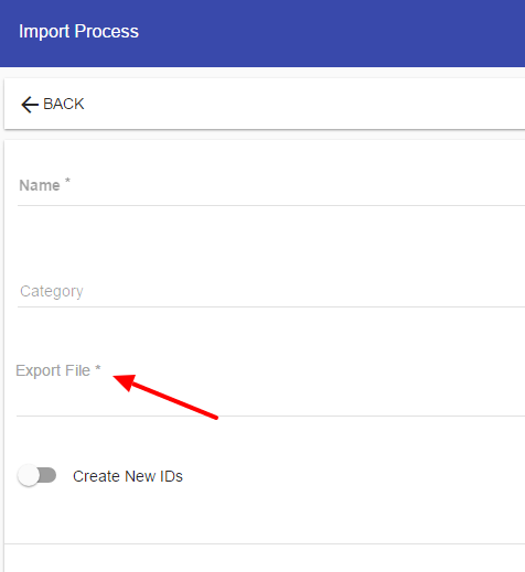 Process Importing – Integrify 7