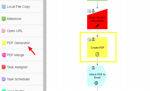Standard Task: PDF Generator – Integrify 7